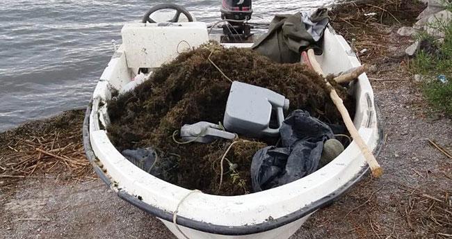 Suğla Gölü'nde yasak dönemde avlanmaya 5 bin 100 lira ceza