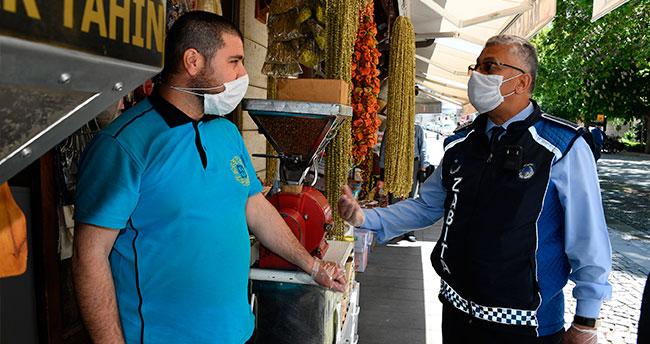 Konya Büyükşehir Zabıta'dan yaka kamerası uygulaması başlatıldı