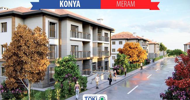 TOKİ'nin Meram'daki 657 konut ihalesi yapıldı!