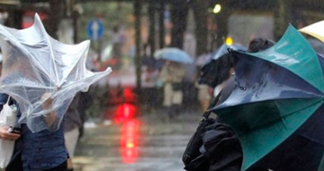 Konya ve çevresi için fırtına uyarısı