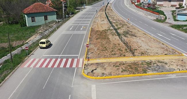 Konya'da 150 metre ileriye yapılan döner kavşak bu mahallenin yolunu 40 kat uzattı
