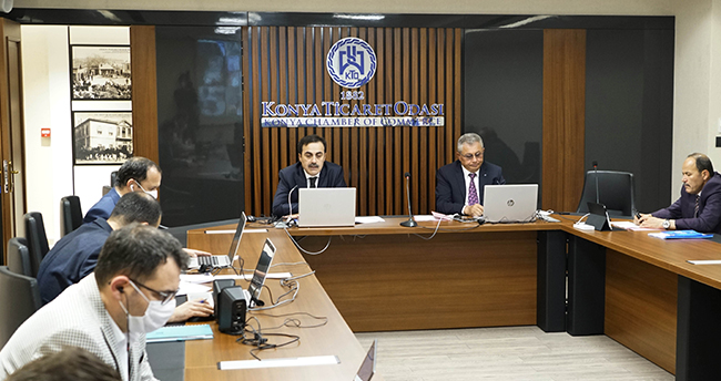 KTO'nun Mayıs ayı meclis toplantısı video konferansla yapıldı