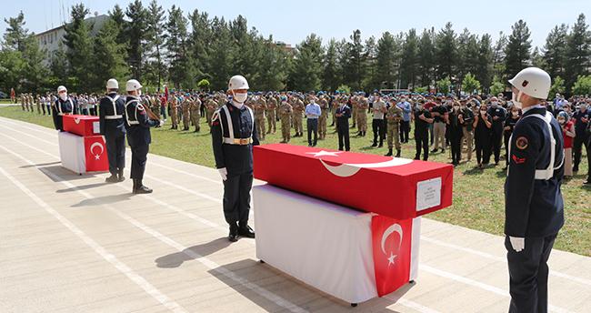 Şehidimizin cenazesi Konya'ya gönderildi