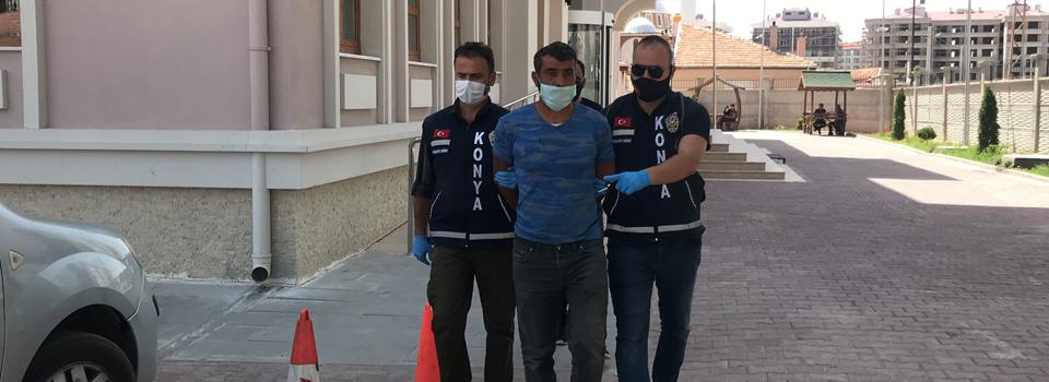 Konya'da vahşi cinayet! Birlikte yaşadığı kadını öldürdü, 'herkes hak ettiğini buldu' dedi