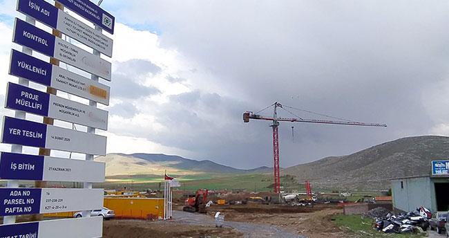 Yunak'ta ikinci etap TOKİ yapımına başlandı