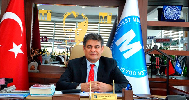 Konya SMMMO Başkanı Erdal mesaj yayımladı