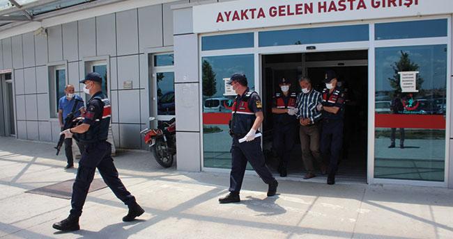 Konya'da hakkında 7 yıl kesinleşmiş hapis cezası olan hükümlü bağ evinde yakalandı