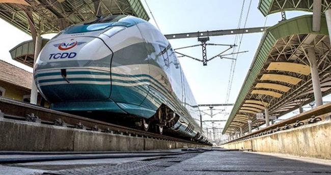 Hızlı tren hat uzunluğu 5 bin 500 kilometreye ulaşacak