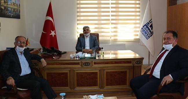 Beyşehir'e KOSKİ yatırımları istişare edildi