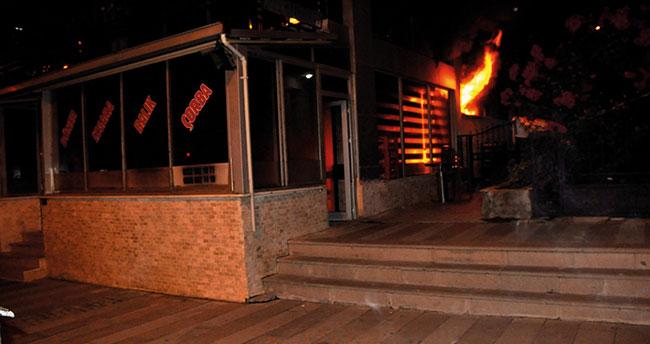 Konya'da restoran kundaklayan şüpheli yakalandı! Bakın niye yakmış