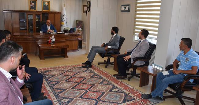 Saadet Partisi Konya Milletvekili Abdulkadir Karaduman, Karapınar ilçesini ziyaret etti