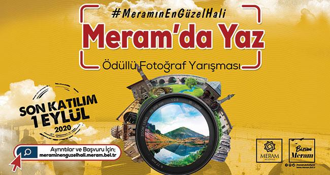 Meram'da ödüllü fotoğraf yarışması