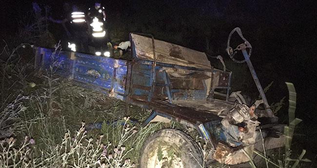 Konya'da otomobil, pat pata çarptı: 1ölü, 5 yaralı