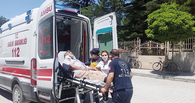 Konya'da otomobil sürücüsü elektrikli bisiklete çarptı: 1 yaralı