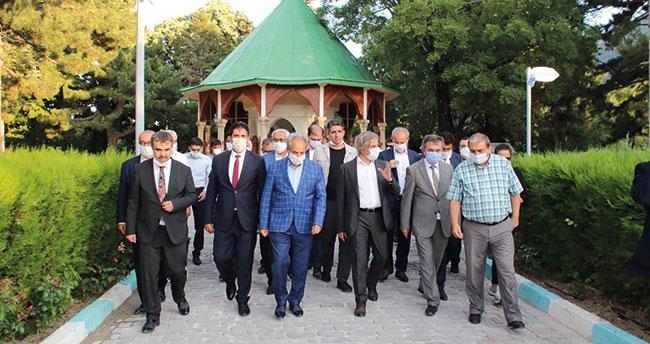 Bakan Yardımcısı Demircan'ın Konya temasları devam ediyor