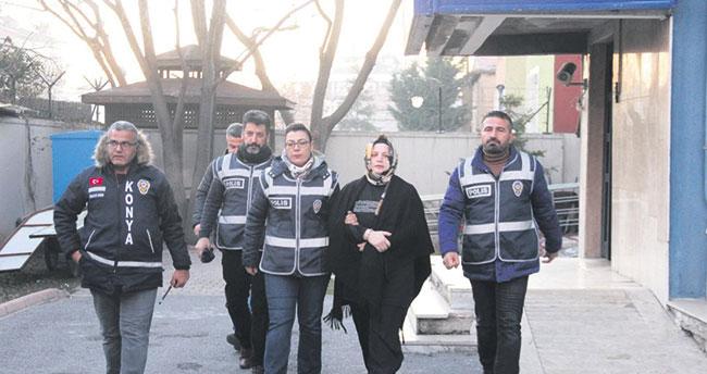 Konya'da kocasıyla yaşayan kadını öldüren sanık hakim karşısında