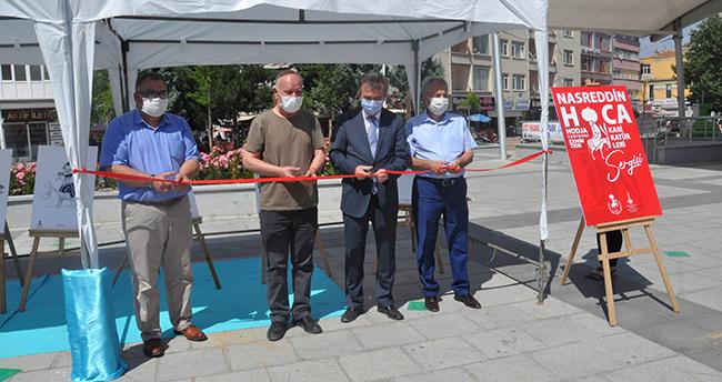 Akşehir'de Nasreddin Hoca Şenliği kapsamında sergiler açıldı