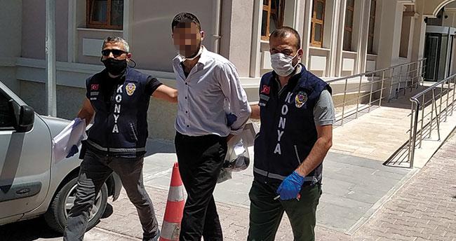Konya'da belediye otobüsünde dehşet! Güvenlik görevlisini bıçakladı