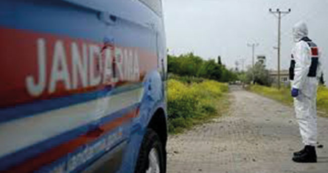 Konya'nın o ilçesinde iki ev karantinaya alındı