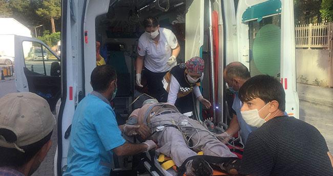 Konya'da işçileri taşıyan hafif ticari araç takla attı: 4 kişi yaralandı