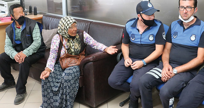 Konya'ya çalışmaya diye geldiler, dilenirken zabıtaya yakalandılar