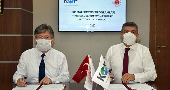 Konya'da açık cezaevinde örnek KOP projesi