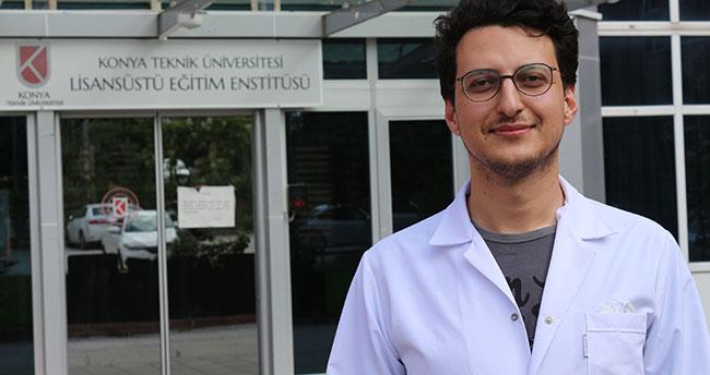 """Konya'da üniversite öğrencileri sisten su elde etmek için """"sentetik nano malzeme"""" üretti"""