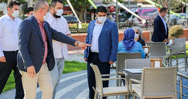 Melikşah Parkı Kafe Meram hizmet vermeye başladı