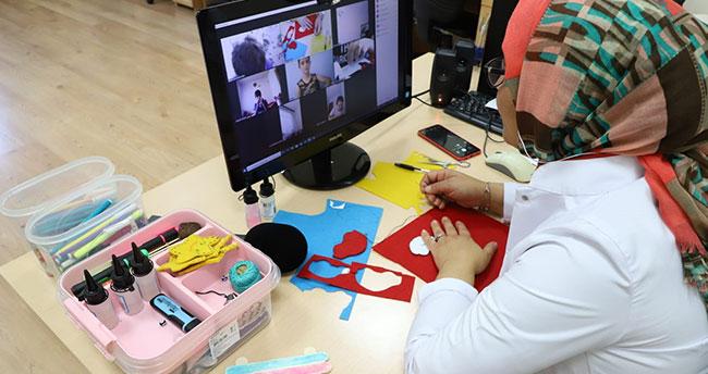 Konya'da yaz okulunda uzaktan eğitimler 10 bin öğrenciyle başladı