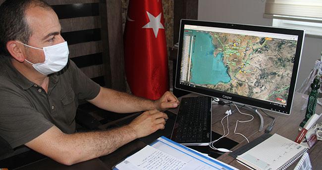 Konya'da biçerdöverler artık GSP ile uydudan takip ediliyor