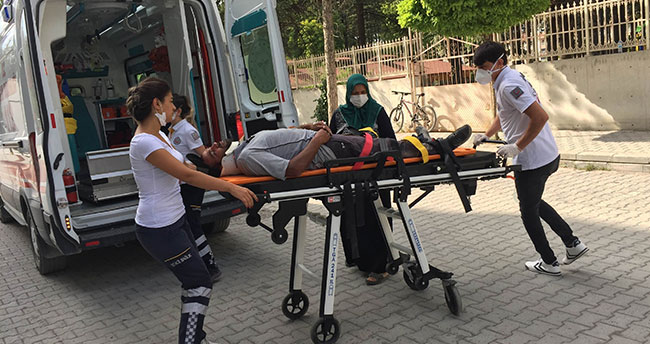 Konyada yayaya çarpan otomobilin sürücüsü kaçtı
