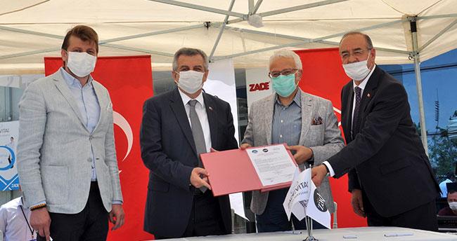 NEÜ ve Helvacızade Arasında TÜBİTAK Sanayi Doktora Programı İşbirliği Protokolü