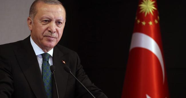 Başkan Erdoğan'dan Kıbrıs Barış Harekatı paylaşımı