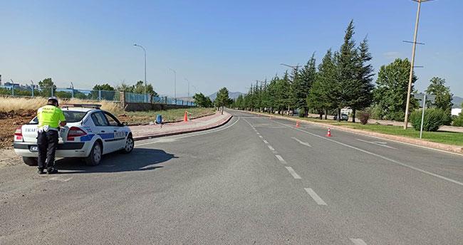Konya'da kurallara uymayan sürücülere 21 bin 700 liralık hız cezası