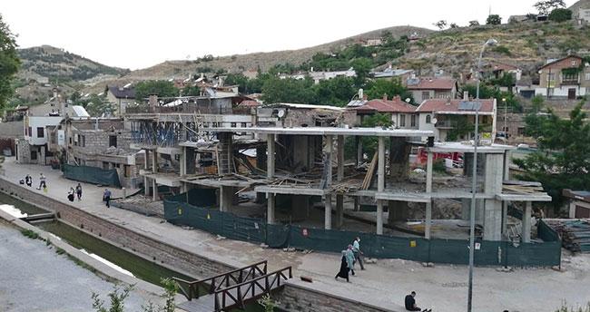 Selçuklu Belediyesi Sille'de yükselen betonarme yapılarla ilgili açıklama: Müsterih olun