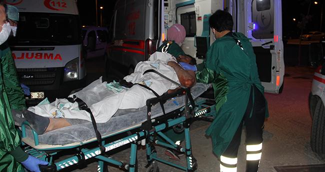 Konya'da yaşandı! Boğazı kesilen kişi, kendi kullandığı araçla hastaneye gitti