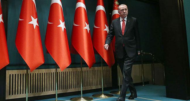 Cumhurbaşkanı Erdoğan Azerbaycan, Umman ve Türkmenistan lideriyle bayramlaştı
