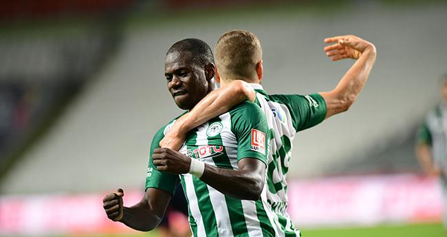 Konyaspor'da 13 isim gol attı
