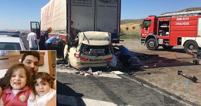 Ankara-Konya yolunda 5 kişinin hayatını kaybettiği kazada kahreden detaylar
