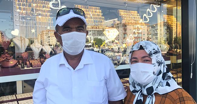 Konya'da kuyumcu dükkanlarının soyulmasını engelleyen karı koca konuştu