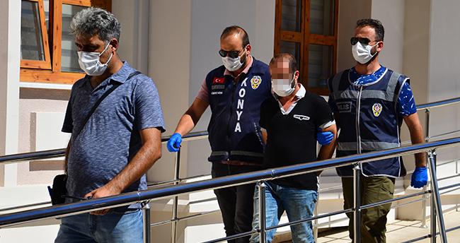 Konya'da miras nedeniyle tartıştığı ağabeyini silahla öldüren şüpheli yakalandı
