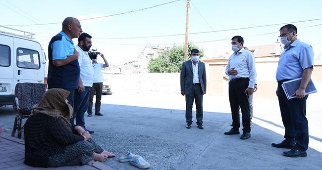 Başkan Kılca, Sultan Mesut Mahallesi'nde vatandaşlarla buluştu