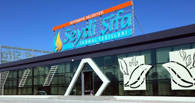 Seydişehir'deki termal tesislerde pandemi nedeniyle hizmete ara verildi