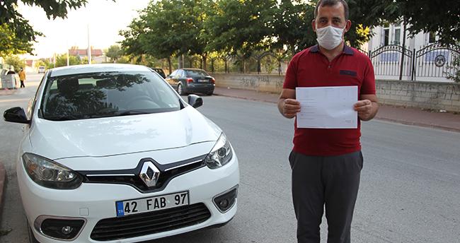 Hiç geçmediği İstanbul'daki köprüden 9 kez ceza yiyen Konyalının cezası durduruldu