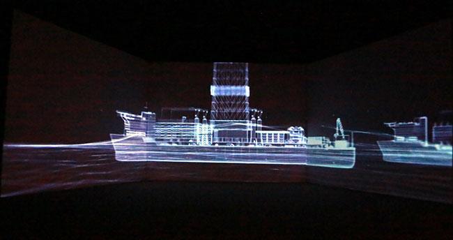 Yavuz, Fatih ve Oruç Reis sondaj gemileri, Dijital Gösterim Merkezi'nde