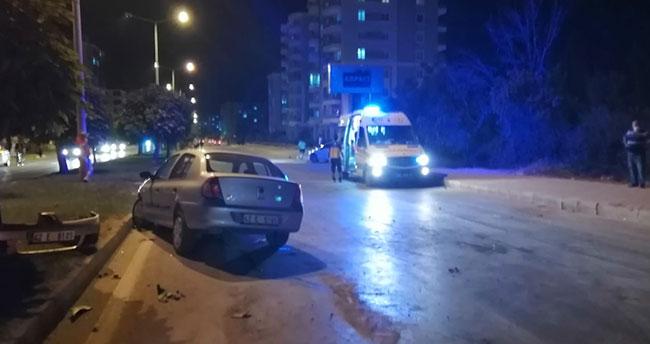 Konya'da otomobille kamyonet çarpıştı: 5 yaralı