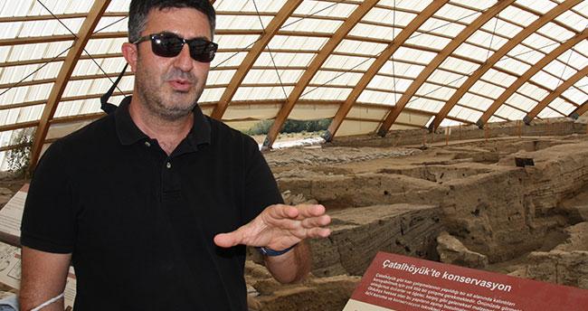 Konya'daki Çatalhöyük kazısının başkanlığına Doç. Dr. Ali Umut Türkcan getirildi