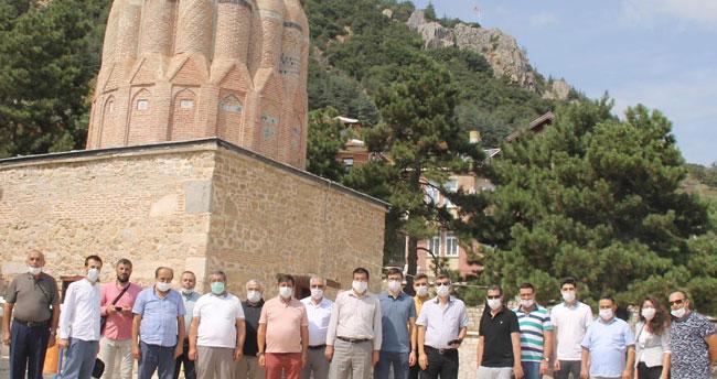 Konya TÜRSAB heyetinden Akşehir'e gezi