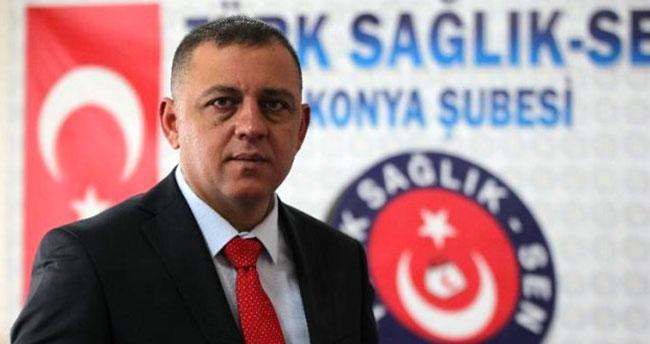 Türk Sağlık-Sen Konya Şube Başkanı Metin Töke'den sağlık çalışanlarına saldırıya kınama