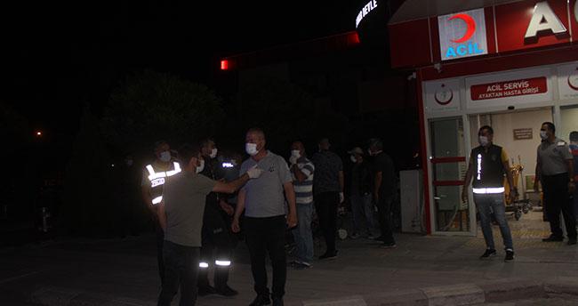 Konya'da silahlı kavgada aralarında polis memurunun da bulunduğu 6 kişi yaralandı